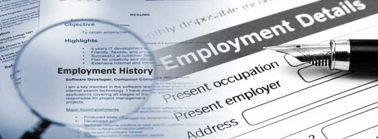 Employment Verifications